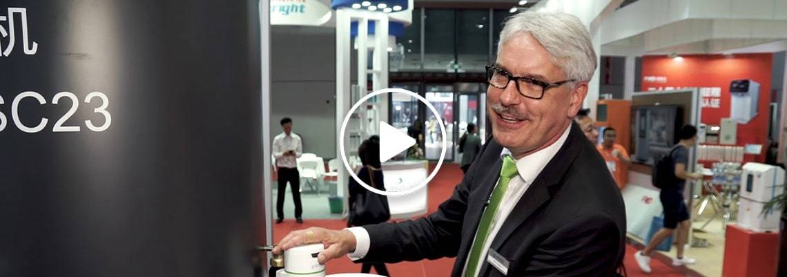 ARMIN SCHUTZ FROM GRUNBECK DISCUSSES WATER TREATMENT SOLUTIONS