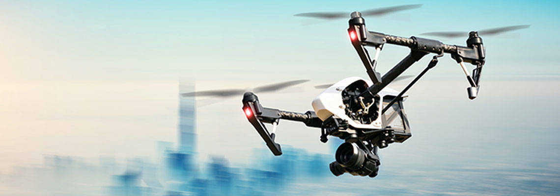 Drones for the water industry