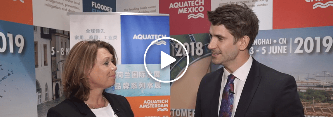 Annette Bos shares her personal highlights from Aquatech China 2018