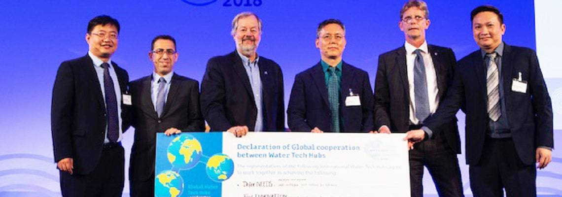Hubs to hubs: Declaration unites global water tech clusters