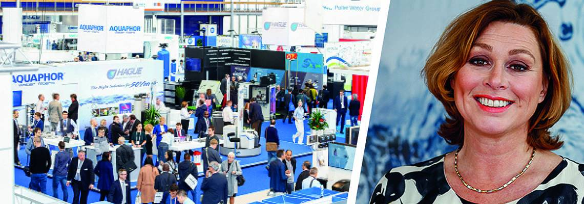 Annette Bos warmly invites you to join Aquatech Amsterdam