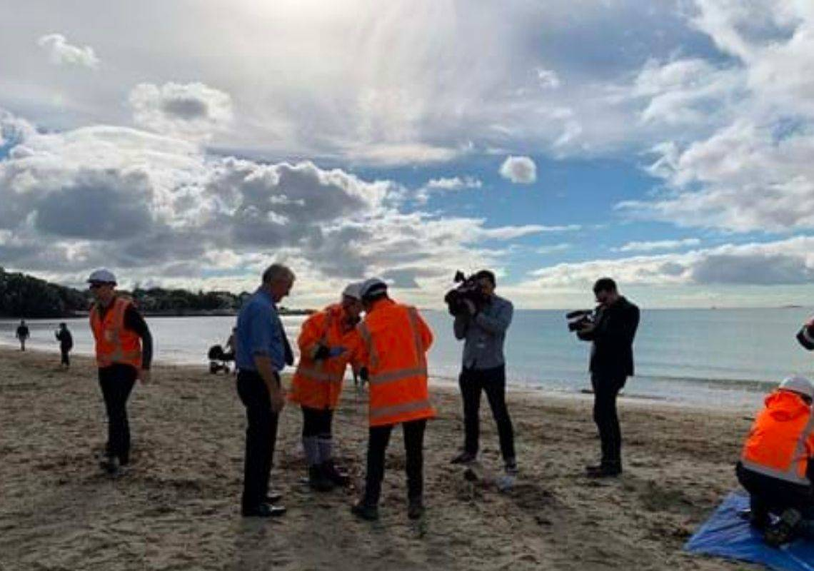 VIDEO: Drones reduce water quality sampling costs in Auckland