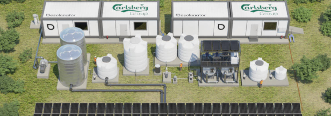 Carlsberg aims to clean water from solar