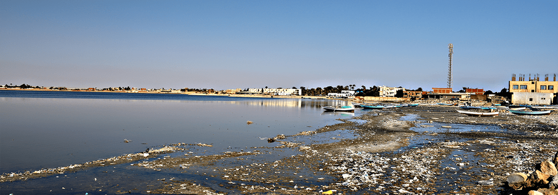 Rural wastewater redevelopment to restore Egypt's Lake Qarun