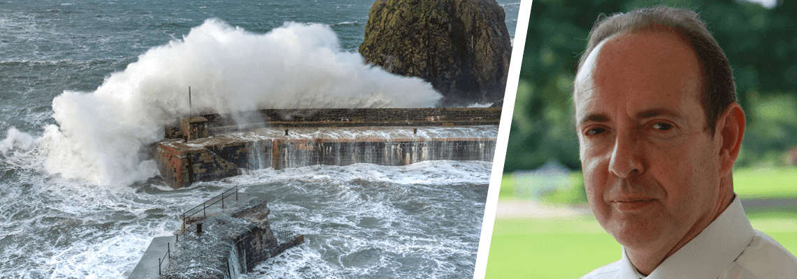 "Call to arms for water tech: help defuse the ""weather bomb"""