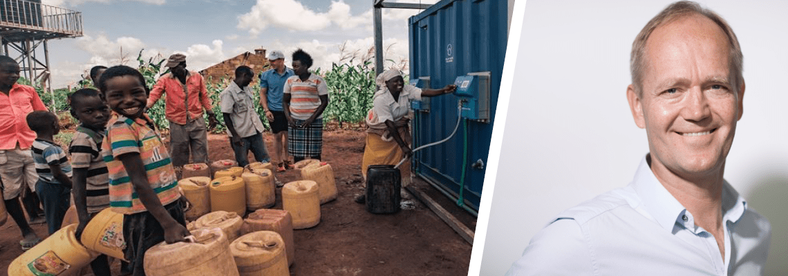 Off-grid solar water system taps into Kenya's booming smartphone base